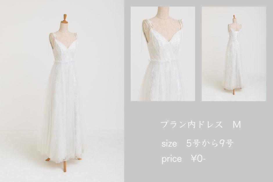 48.プラン内ドレスM