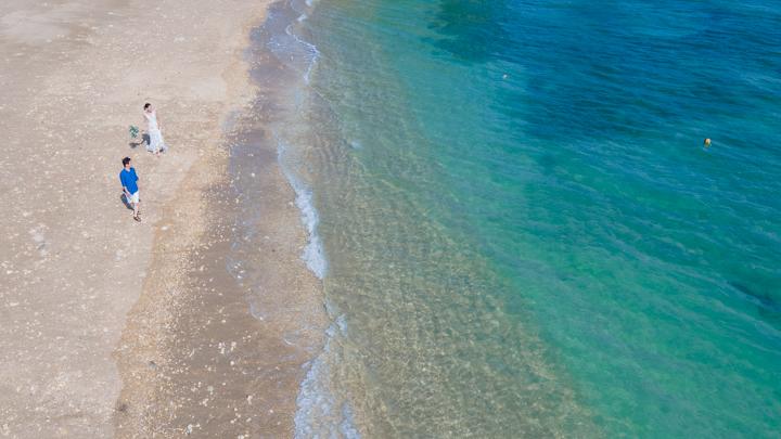 沖縄フォトウェディング(ムルク浜)