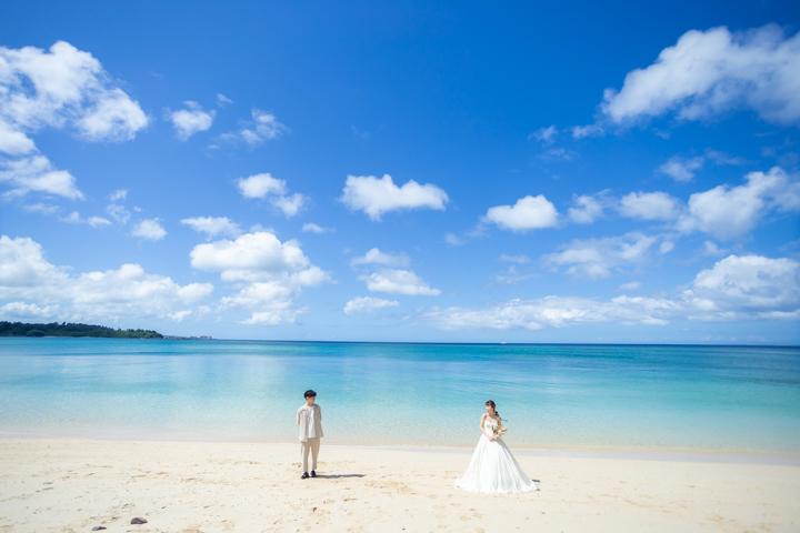 沖縄ウェディング(希望ヶ丘ビーチ)