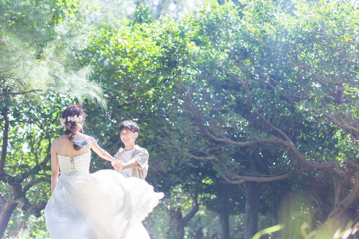 沖縄ウェディング(石川公園)