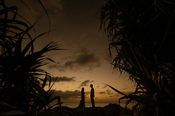 沖縄ウェディング(サンセット)